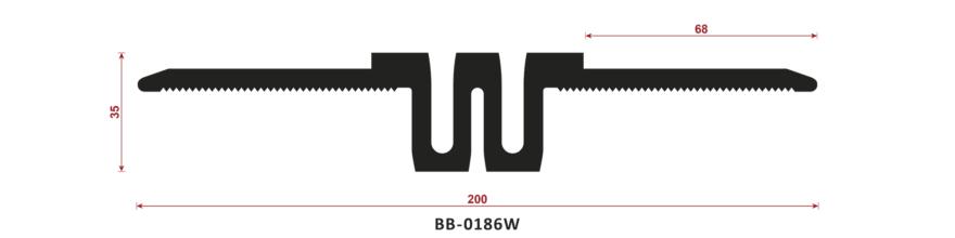 uszczelka do dylatacji BB-0186W