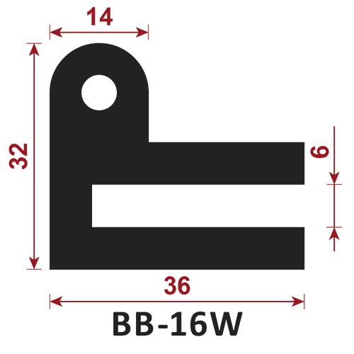 uszczelka typu e BB-16W