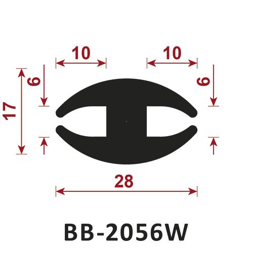 uszczelka do szyb BB-2056W