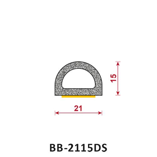 uszczelka półokrągła z klejem BB-2115DS