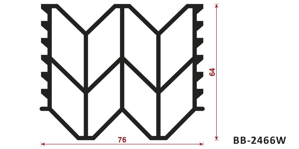 uszczelka do dylatacji BB-2466W