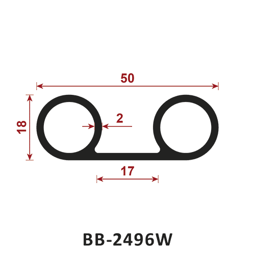 uszczelka typu B BB-2496W