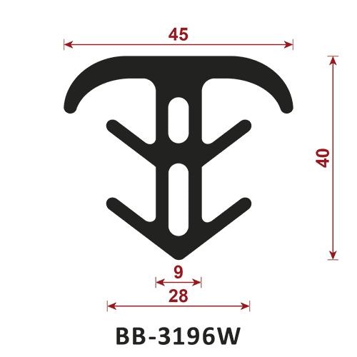 uszczelka do dylatacji BB-3196W