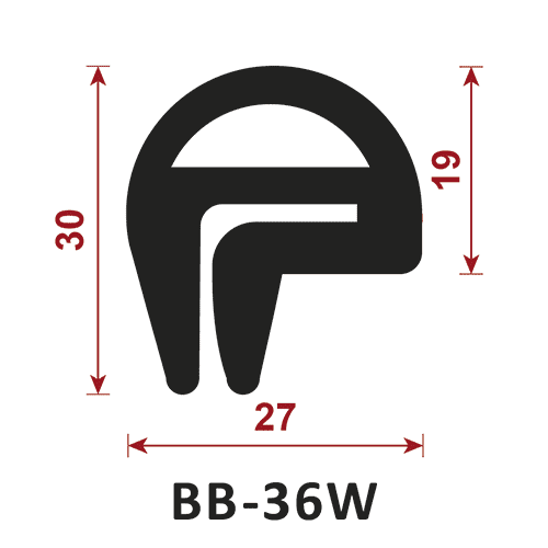 uszczelka typu e BB-36W