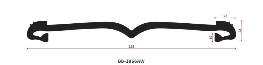 uszczelka do dylatacji BB-3966AW