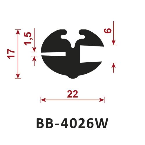 uszczelka do szyb BB-4026W