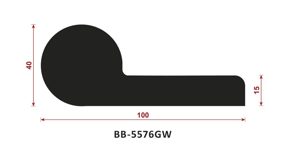 uszczelka typu P BB-5576GW