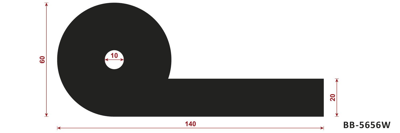 uszczelka typu P BB-5656W