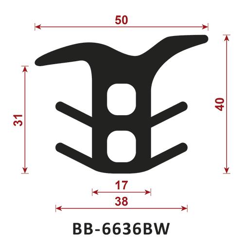 uszczelka do dylatacji BB-6636BW