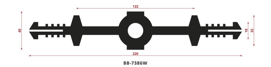 uszczelka do dylatacji BB-7386W