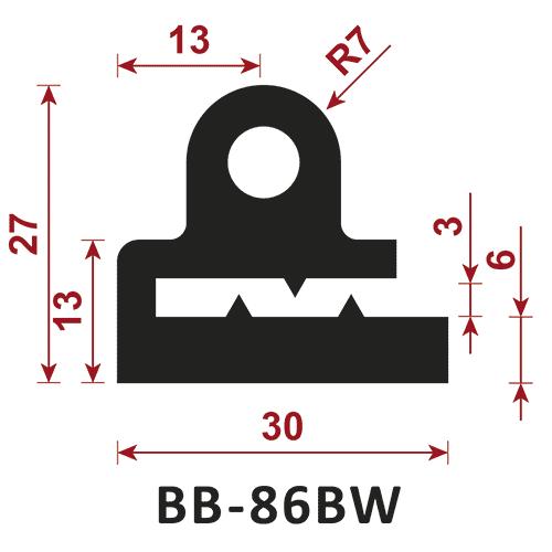 uszczelka typu e BB-86BW