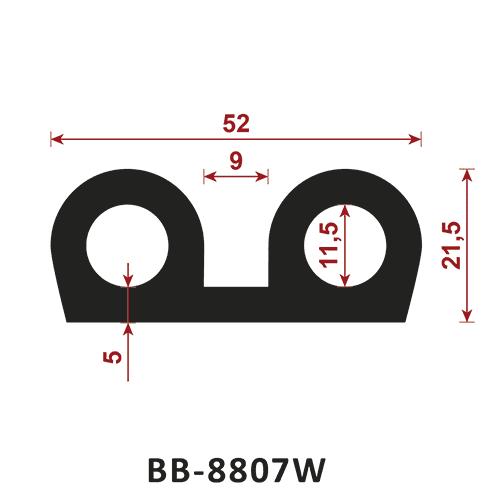 uszczelka typu B BB-8807W