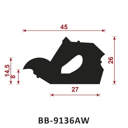 uszczelka do rynien i kanalizacji BB-9136AW