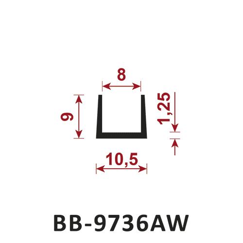 uszczelka do klimatyzacji i wentylacji BB-9736AW