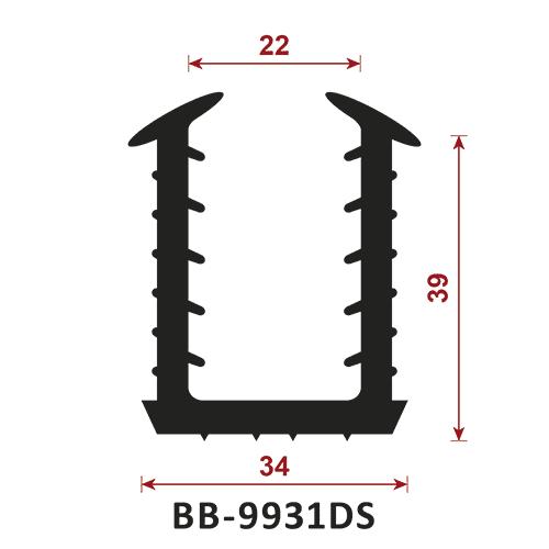 profil do ekranu akustycznego BB-9931DS