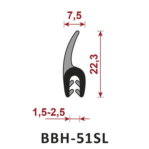uszczelka wielofunkcyjna BBH-51SL