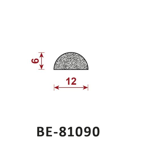 uszczelka półokrągła pełna BE-81090