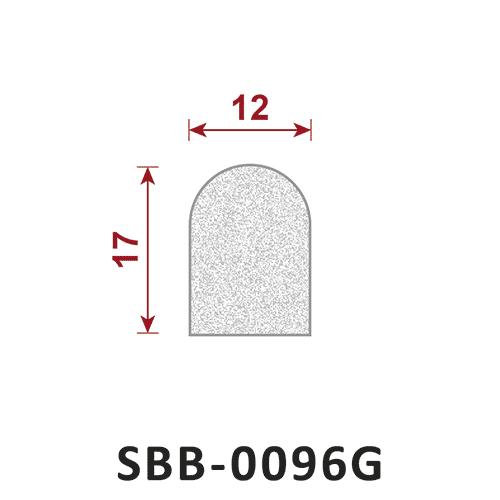 uszczelka silikonowa gąbczasta SBB-0096G