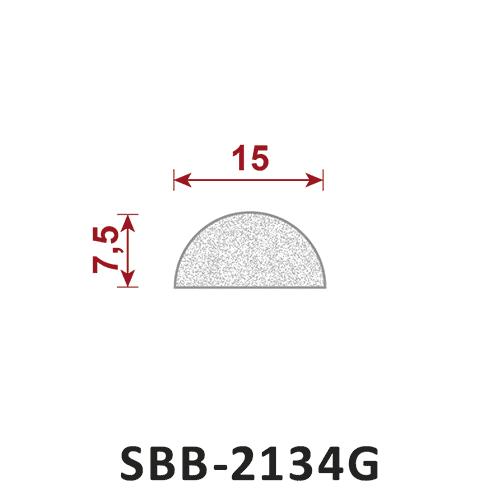 uszczelka silikonowa gąbczasta SBB-2134G