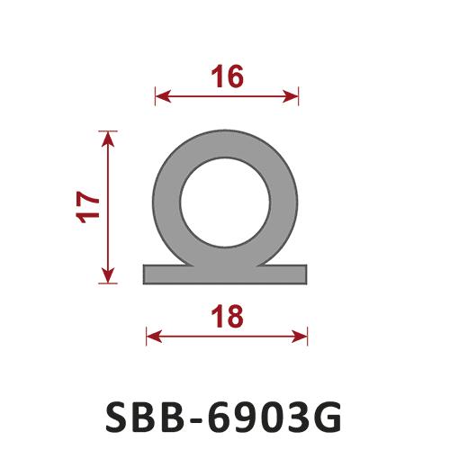uszczelka silikonowa lita SBB-6903G