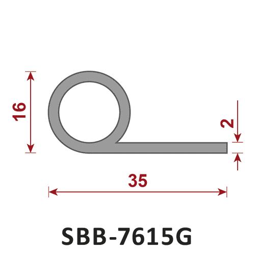 uszczelka silikonowa lita SBB-7615G