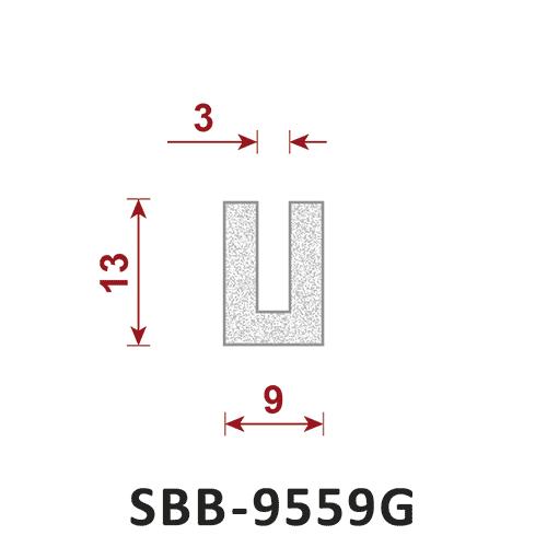 uszczelka silikonowa gąbczasta SBB-9559G