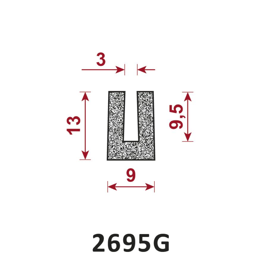 uszczelka porowata 2695G