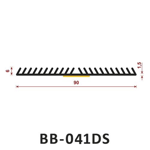 Uszczelka samoprzylepna BB-041DS