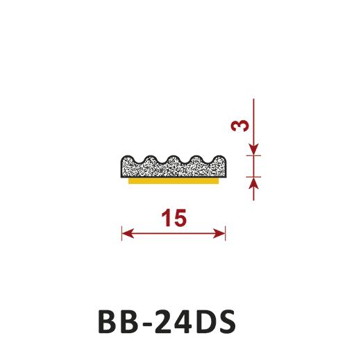 uszczelka samoprzylepna BB-24DS