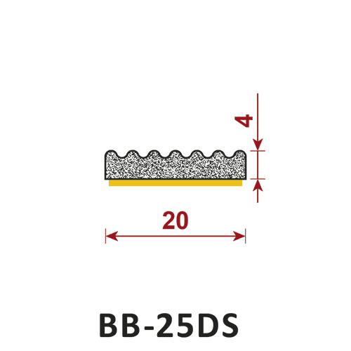 uszczelka samoprzylepna BB-25DS