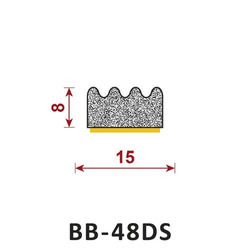 uszczelka samoprzylepna BB-48DS
