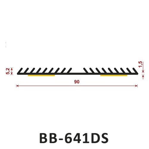 Uszczelka samoprzylepna BB-641DS
