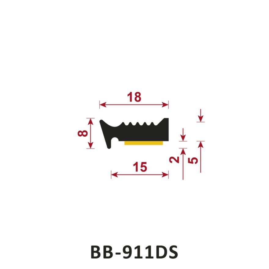 uszczelka samoprzylepna BB-911DS