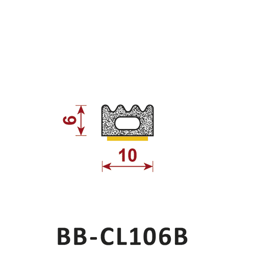 uszczelka samoprzylepna BB-CL106B