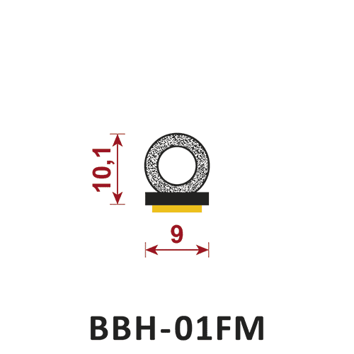uszczelka samoprzylepna BBH-01FM
